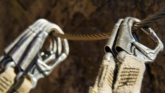 The Via Ferrata Safety System